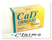 Cad Orange Bruisgranulaat 1000mg880ie In Sachet