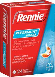 Rennie Kauwtablet