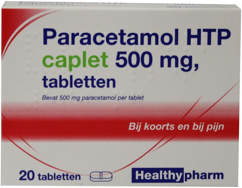 Paracetamol Htp Caplet 500mg Tablet