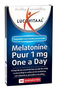 LUCOVITAAL MELATONINE 1MG @