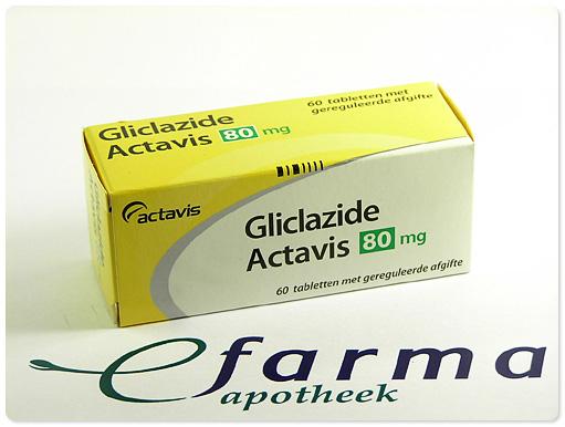 gliclazide - Medicijnen - Medicijninformatie | eFarma