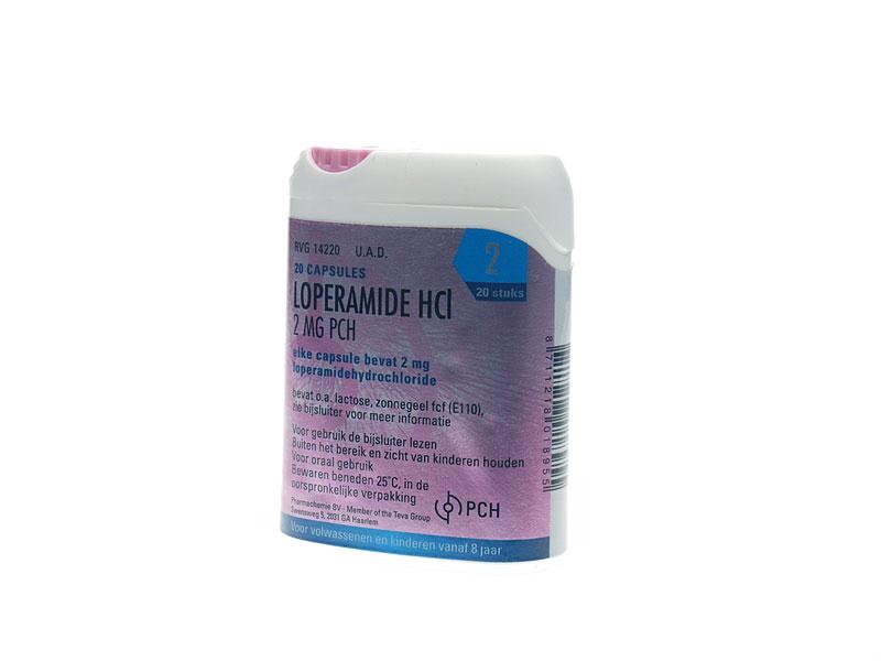 Loperamide 2mg Cap