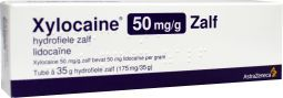 Xylocaine 5% Zalf 50mg/G