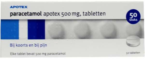 Paracetamol Apotex Tablet 500mg