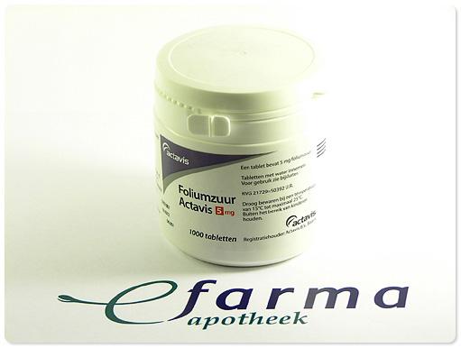 Foliumzuur Sanias Tablet 5mg