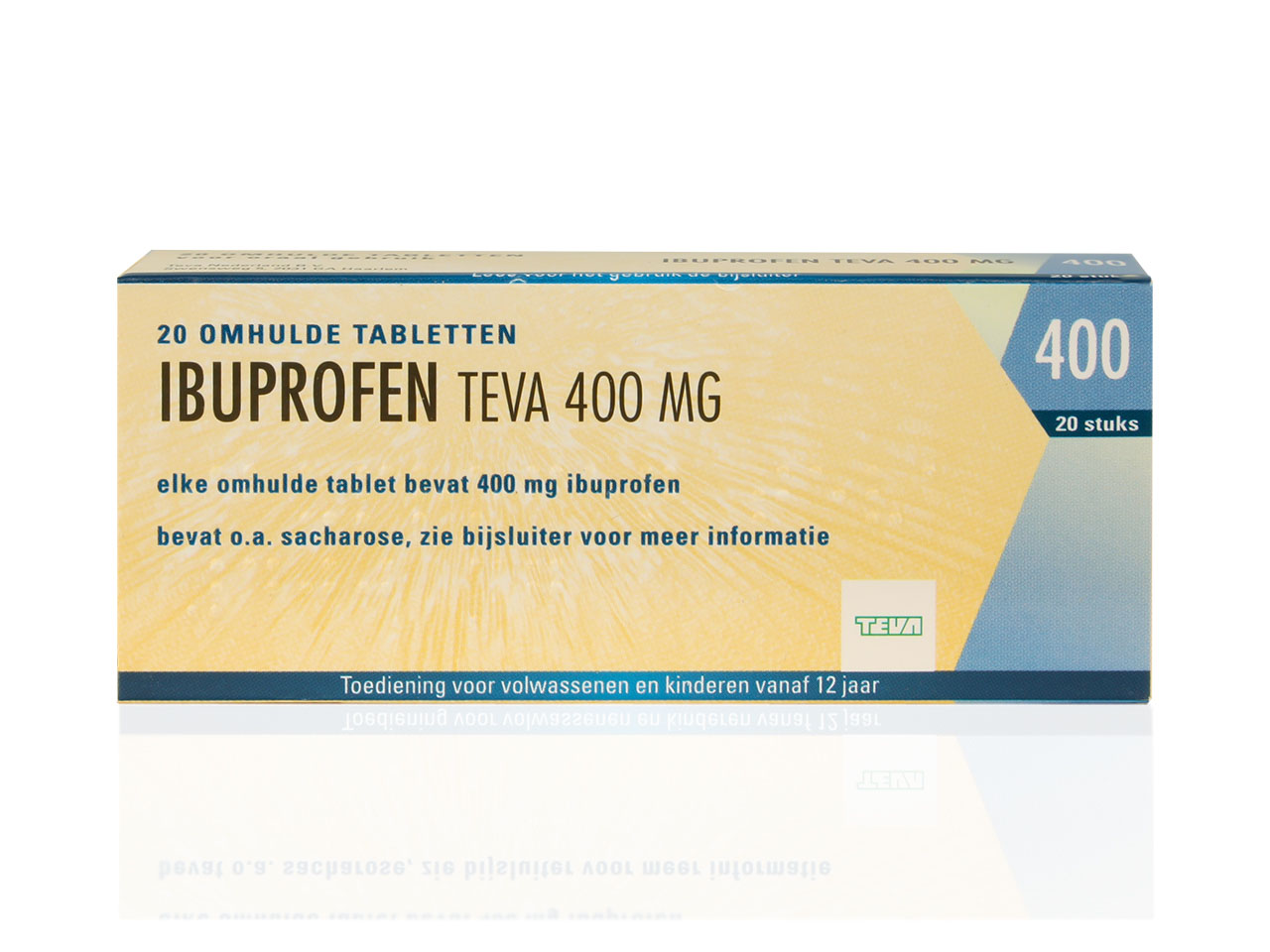 Ibuprofen Teva Tablet 400mg                     Ot