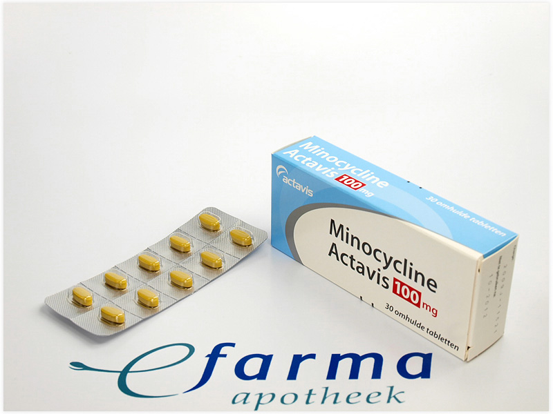 Minocycline Hydrochloride Tablets For Acne