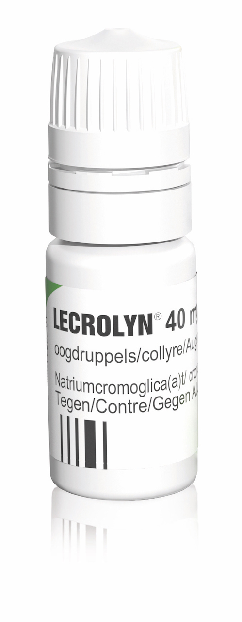 Lecrolyn Oogdruppels 40mg/ml Flacon 10ml